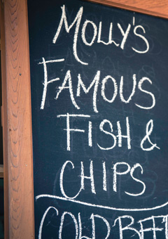 Molly's Fish & Chips Sechelt