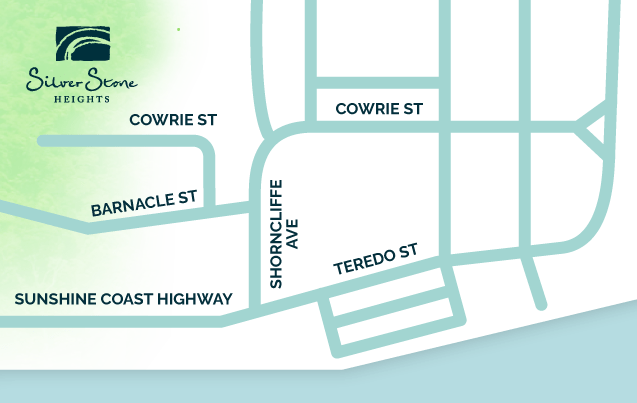 Map of Sechelt