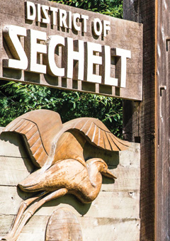 Visit the Town of Sechelt