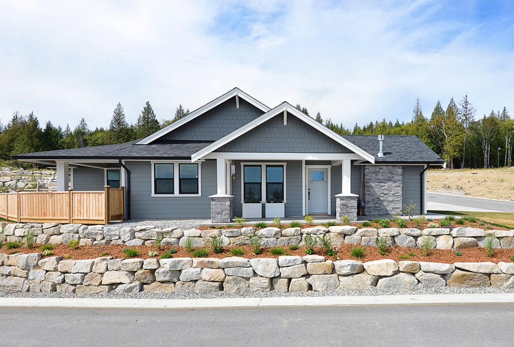 Silverstone Heights Home Exterior - Homes For Sale Sechelt