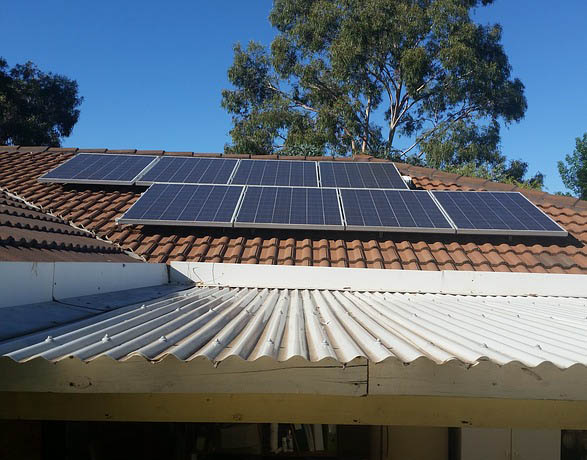 customised solar installation