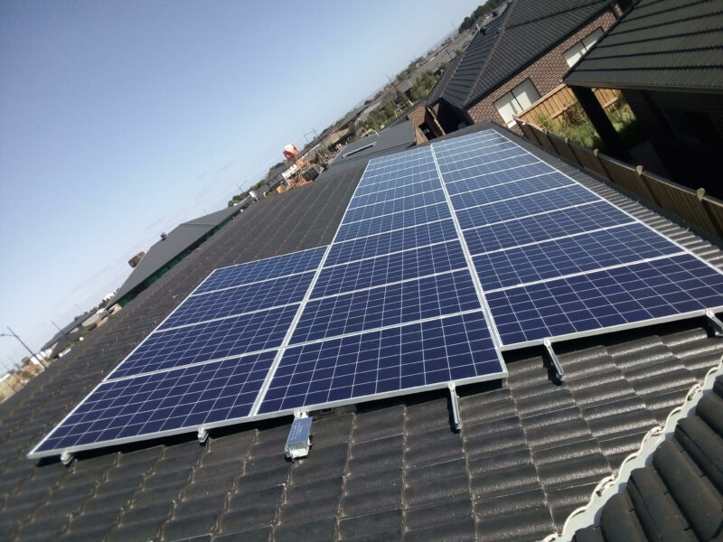 nexergy solar panel installation in Melbourne