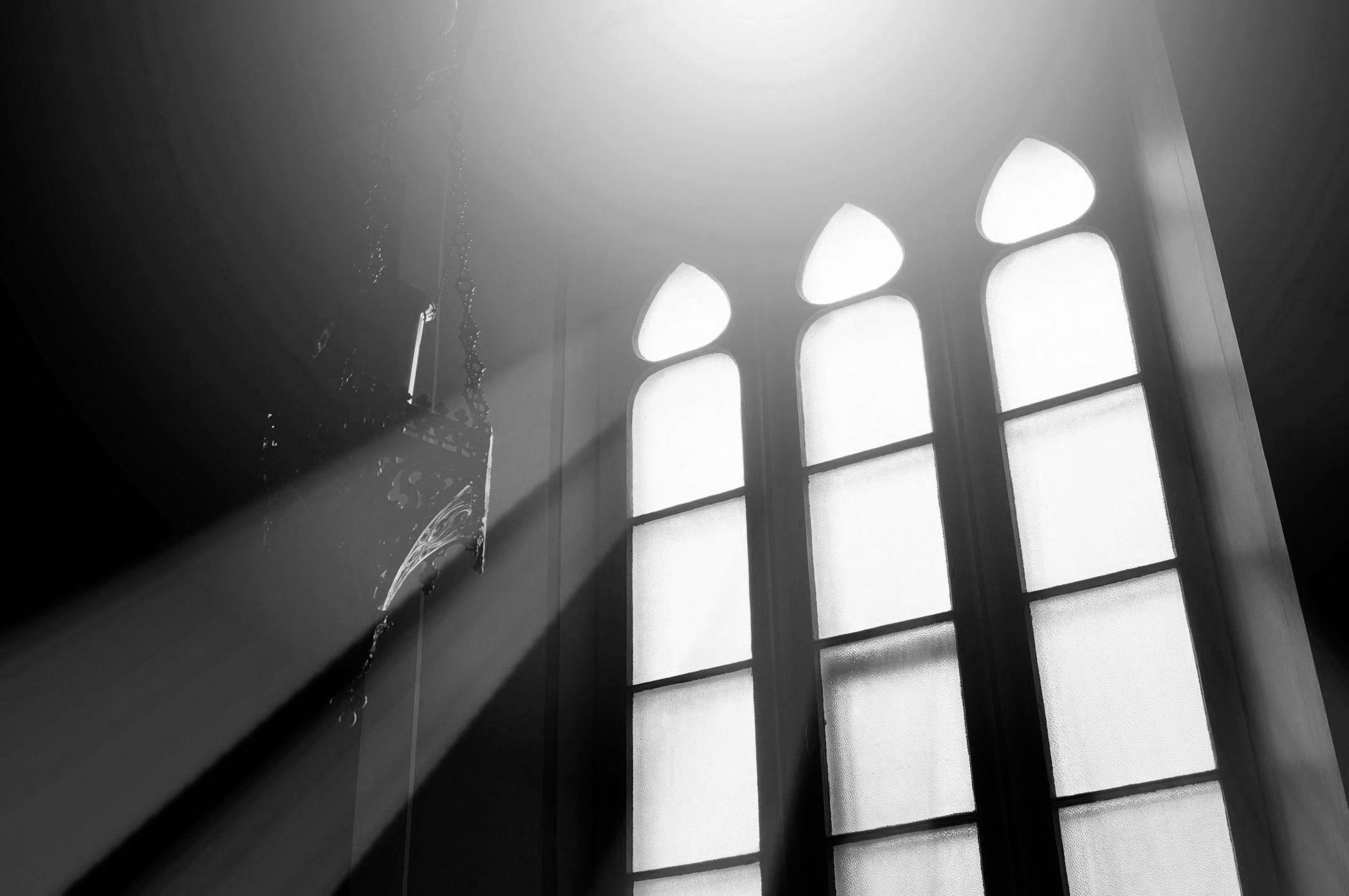church-window-BW
