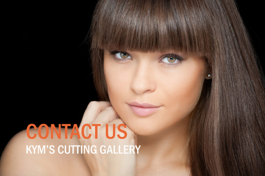 Hairdressing in Penrith Kym's Cutting Gallery Contact Us