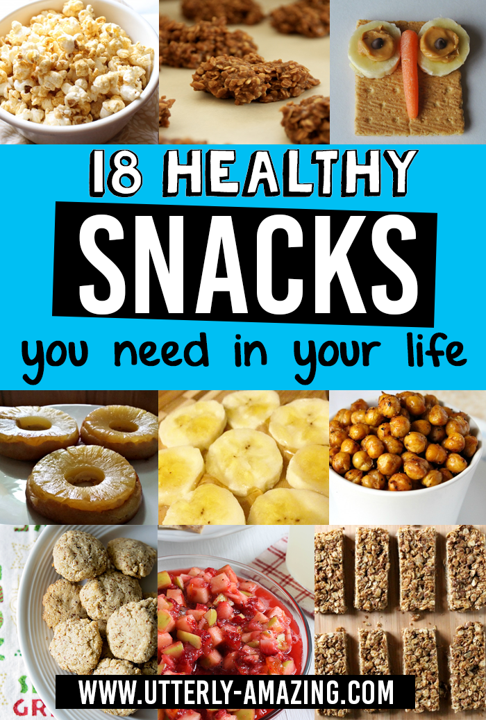 18 Healthy Snacks You Need In Your Life | Utterly-Amazing.com