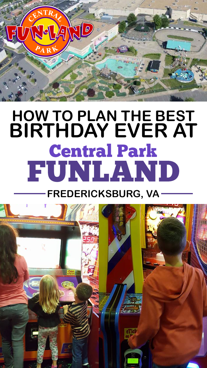 Plan The Best Birthday Ever At Central Park FunLand