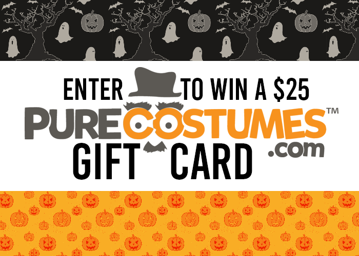 $25 Pure Costumes Gift Card Giveaway | #TrickOrTreat