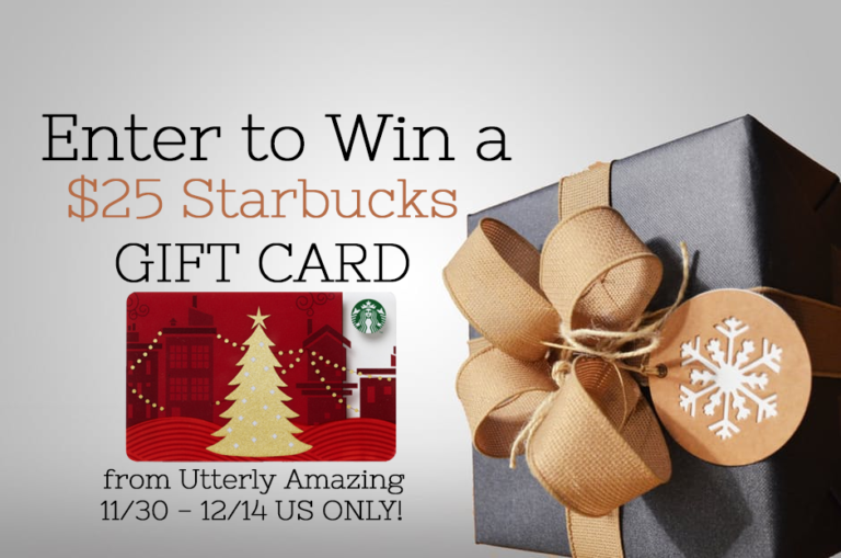 This or That Giveaway Hop | $25 Starbucks Gift Card