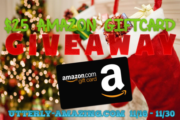 $25 Amazon Gift Card Giveaway | Super Stocking Stuffer Giveaway Hop