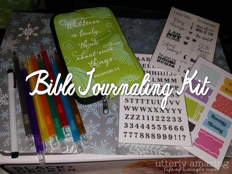 Creative Twist To Bible Notes With Bible Journaling Kit