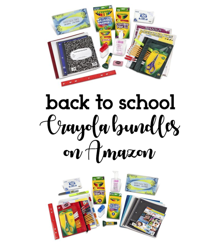 Back To School Shopping With Crayola & Amazon Prime!