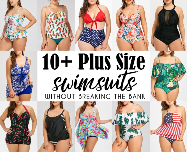 10+ Plus Size Swimsuits Without Breaking The Bank