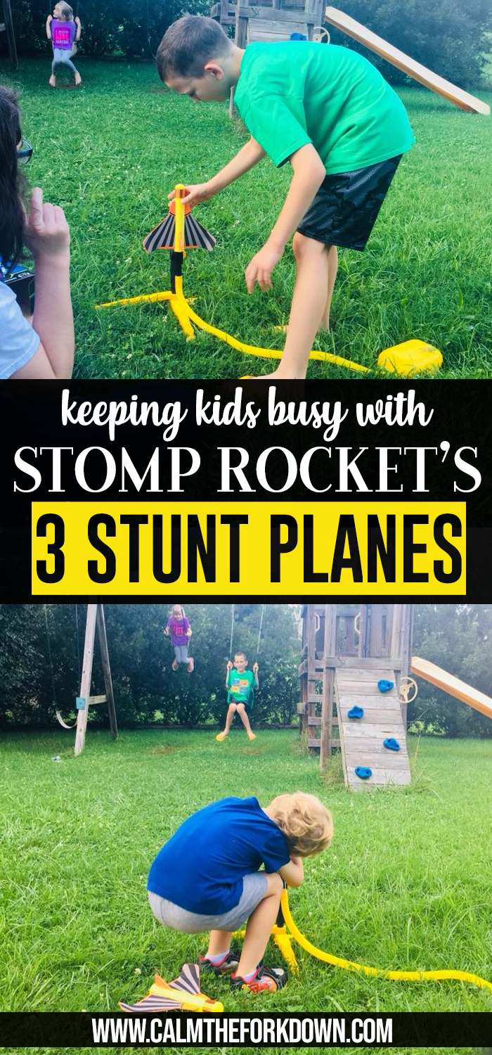 Keep Kids Busy This Summer Stomp Rocket's 3 Stunt Planes