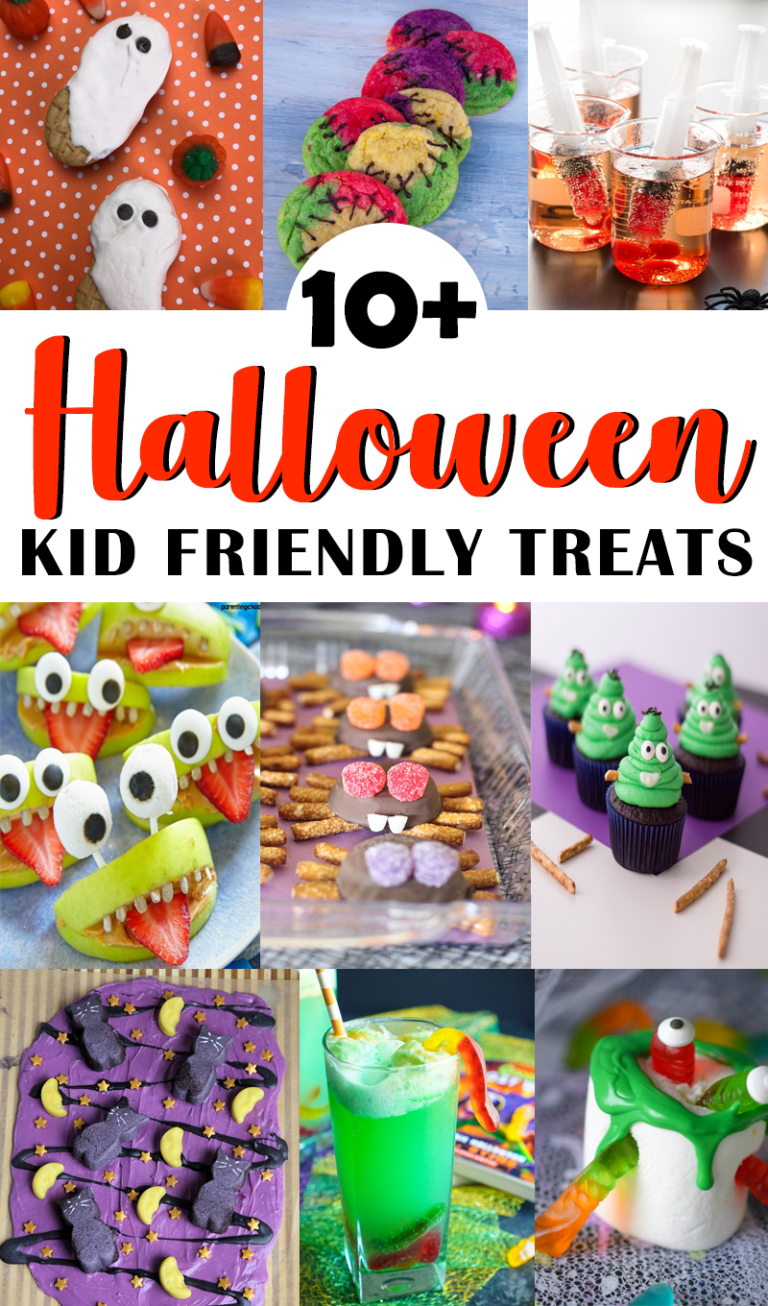 10+ Spooky Halloween Kid Friendly Treats