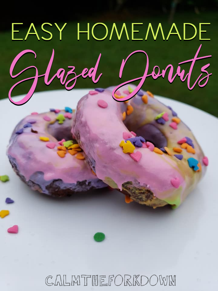 Easy Homemade Glazed Donuts | #NationalDonutDay