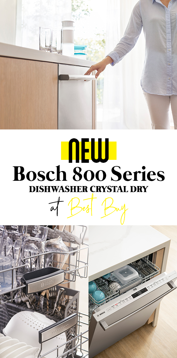 New Bosch 800 Series Dishwasher Crystal Dry At Best Buy