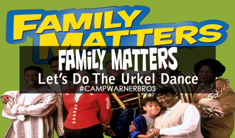 Do The Urkel Dance with Family Matters | #CampWarnerBros