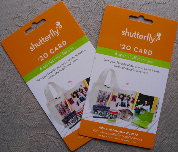 $20 Shutterfly Gift Card Giveaway