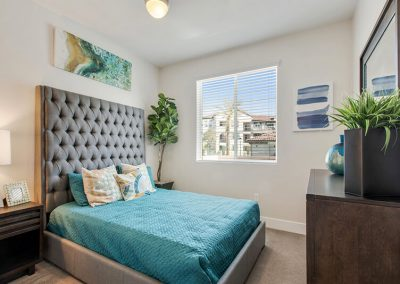 The Crossings of Chino Hills furnished bedroom
