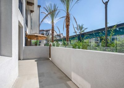 The Crossings of Chino Hills front patio