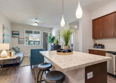 The Crossings of Chino Hills kitchen island