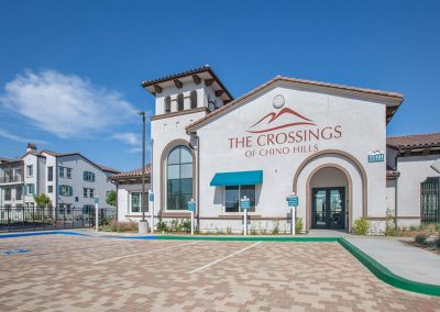 The Crossings of Chino Hills main entrance