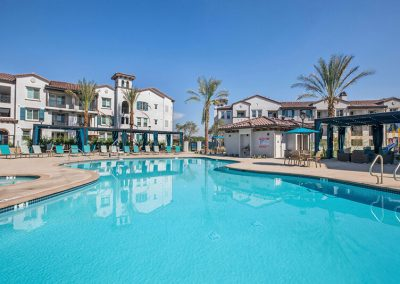 The Crossings of Chino Hills resort style pool