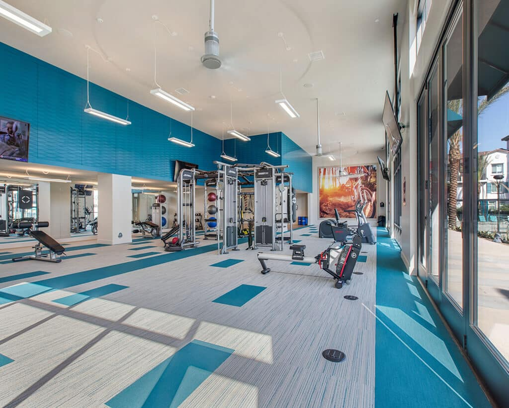 The Crossings of Chino Hills fitness center