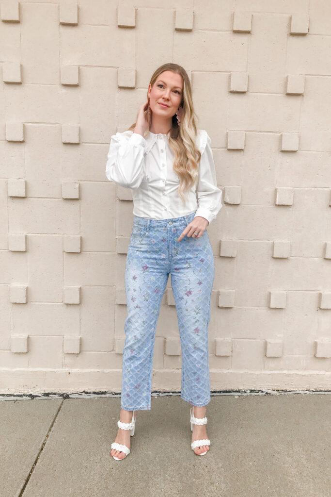 Floral Jeans 4