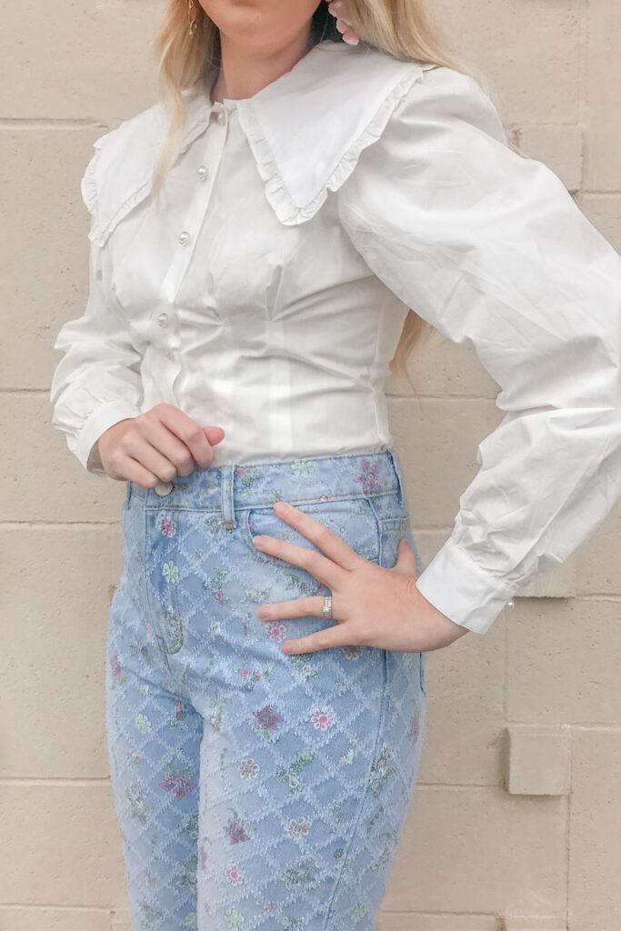 Floral Jeans 5