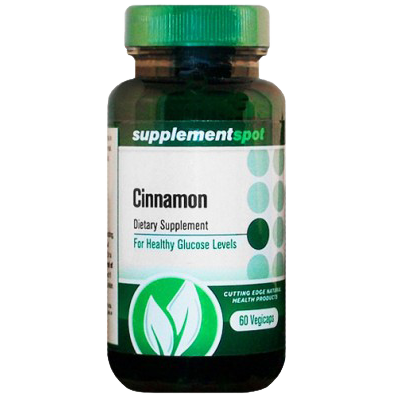 Cinnamon 60 Vegetable Capsules (Vegicaps)