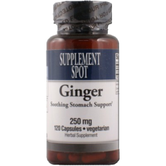 Ginger 250 mg 120 Vegicaps