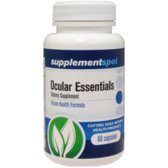 Ocular Essentials Vision Health Formula with Bilberry and Lutein 60 Capsules