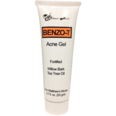 Benzo-T Acne Gel Tea Tree Oil and Willow Bark