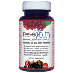 RESVERAYOUTH Super Fruit Antioxidant Supplement (Resveratrol)