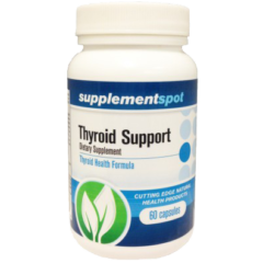 Thyroid Support Dietary Supplement 60 Capsules