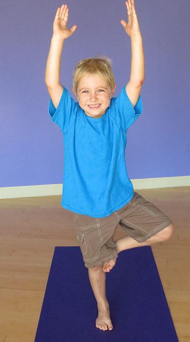 Teaching Yoga to Three-Year-Olds on up to Tweens and Teens