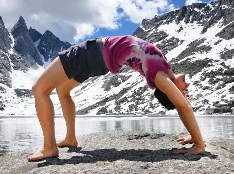 Urdhva Dhanurasana (Upward Facing Bow)