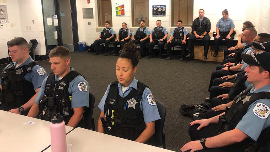 Cop to Yoga Expands to More than Two-Thirds of Police Districts
