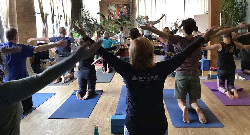 """""""Yoga for Life,"""" with Gary Kraftsow"""