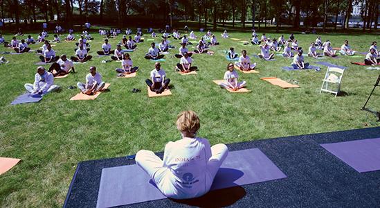 Chicago Celebrates the International Day of Yoga