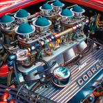 Shelby Cobra Car Art Print Hiss