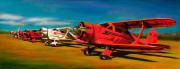 Airplane Art Print|Rainbow Row