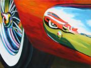 Chevrolet Car Art Print| Bel Air Reflecion