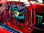 Chevrolet Car Art Prints|Bel Air Reflection