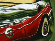 Chevrolet Car Art Print|Chevy on the Lawn