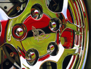 Chevrolet Car Art Print|Corvette Reflection