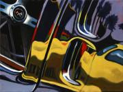 Chevrolet Car ArtPrint|Corvette Stingray