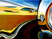Chevrolet Car Art Print|Stingray Headlight
