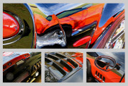 Corvette Car Art Print|Fast Glas